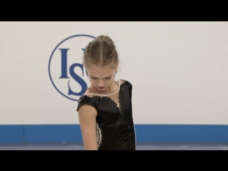 World Junior Championships 2018. Junior Ladies - SP. Alexandra TRUSOVA
