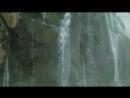 Гегский водопад со снежника Абхазия