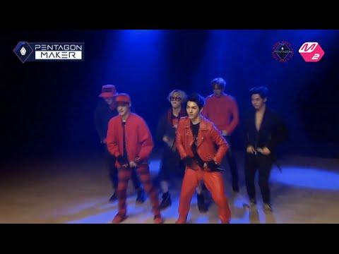 (Team E'Dawn's Cover) Good Luck - B2ST(BEAST) [PENTAGON MAKER EP 4] 6vs4 Battle