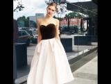Вечернее платье коллекции Сити Суаре Pauline модель Графика Викки