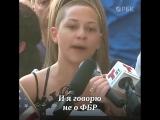 Выступление ученицы школы, где произошла стрельба