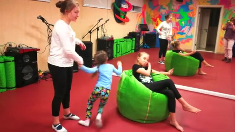 Уроки Актерского Мастерства у Нас проходят очень весело!