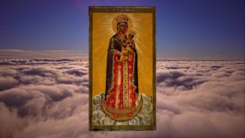 Икона Божией Матери, именуемая Благодатное Небо