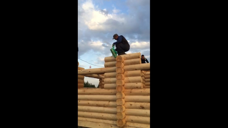 Установка деревянных шкантов