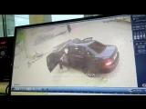 Жесткая авария в Махачкале на Ирчи Казака [Нетипичная Махачкала]