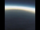 Движение тени Луны во время солнечного затмения 21.08.2017, вид с борта самолёта