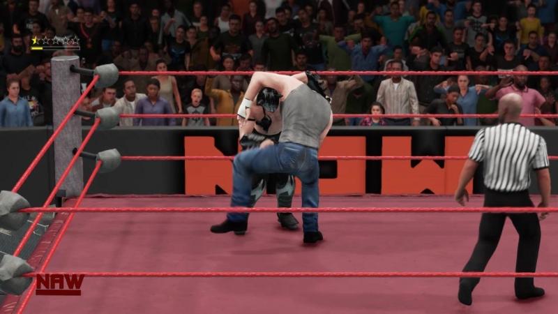 ||WW|| Dean Ambrose vs Drago