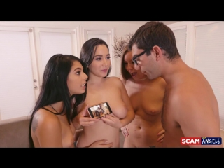 Gina Valentina, Karlee Grey And Maddy Oreilly - ScamAngels [All Sex, Hardcore, Blowjob, Gonzo]