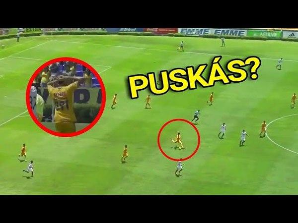 Jogador do Tigres-MEX faz 'GOL PUSKÁS' e CHOCA seus Companheiros!