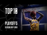 Playoffs 2018 Quarterfinals: Top 10 Plays