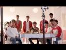 [BTS] Wanna One за кадром съёмки для Mexicana Chicken (23.11.17)