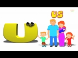 Phonics Letter- U song Alphabet Songs For Toddlers ABC Nursery Rhymes For Children by Kids Tv