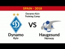 FM Dynamo Kyiv FC Haugesund Norway