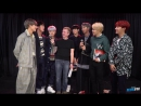 `INTERVIEW` BTS Talks Mic Drop Remix, What To Expect In 2018, BTS Army and more!