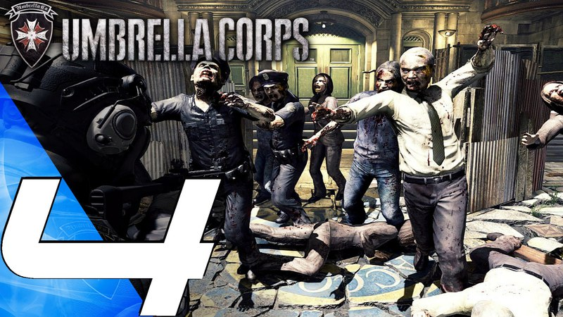 Resident Evil Umbrella Corps (PS4) - Gameplay Walkthrough Part 4 - RPD Police Station