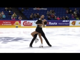 Finlandia Trophy 2017. Pairs - SP. Ksenia STOLBOVA / Fedor KLIMOV
