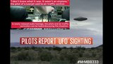 Two pilots report seeing SAME UFO from different aircrafts! - Newly released audio footage