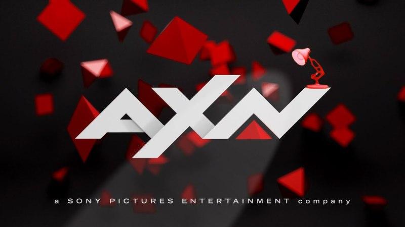 1086 AXN Spoof Pixar Lamps Luxo Jr Logo