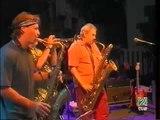 Ronnie Cuber baritone sax, Bill Evans, Randy Brecker.