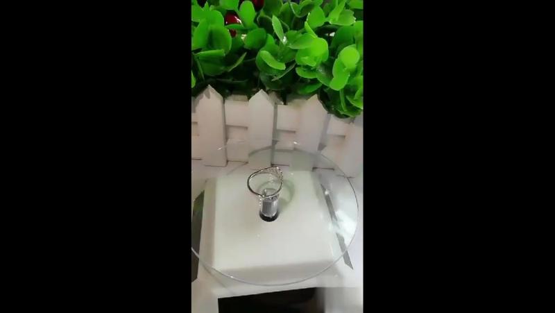 Vichok Корона Форма стерлингового серебра 925 Platinum покрытием пары колец для Для женщин Для мужчин изменение размера Красивые