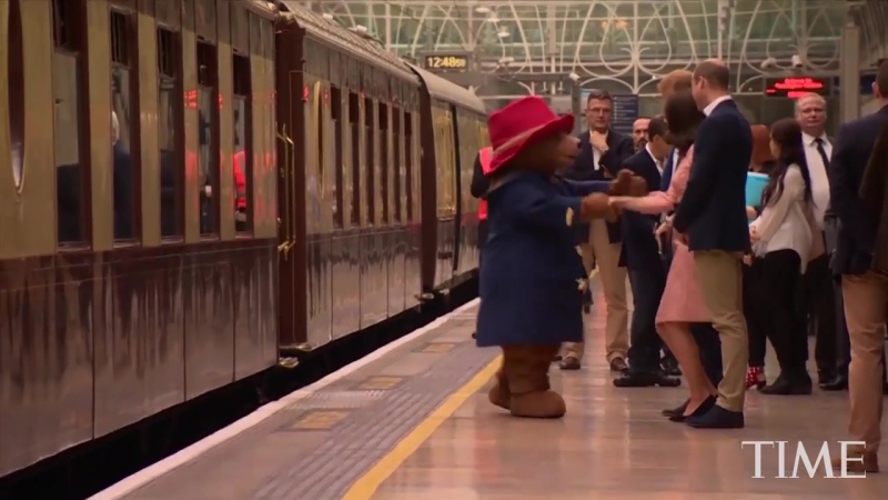Kate Middleton Dancing With Paddington Bear Is Here So You Can Start The Week Off Right - TIME