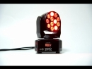 12x3w mini moving head light