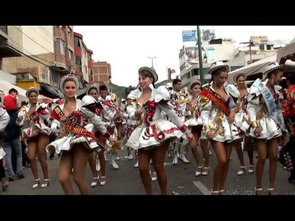 Caporales San Simón Carnaval 2011 Video Clip Corazón Partido