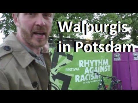 Walpurgisspaß in Potsdam Rhythm against Racism Festival
