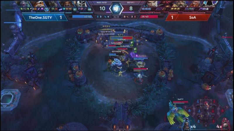 Towers of Doom Boss fight: The One vs SoA (Rokgorr)