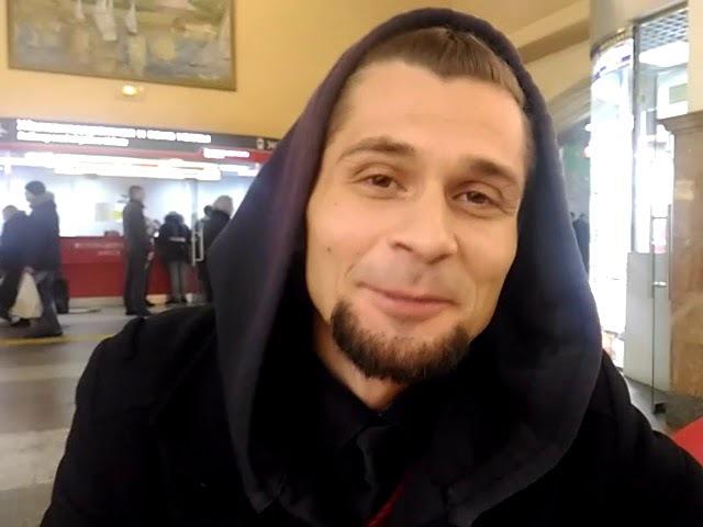 Вячеслав Фёдоров-Богатырёв. На вокзале.