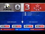 Трактор - ПХК  ЦСКА  0-3 лучшие моменты матча