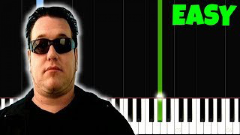 All Star, but its LEGIT EASY PIANO TUTORIAL, I bet 9.999.999$ You Can PLAY THIS!