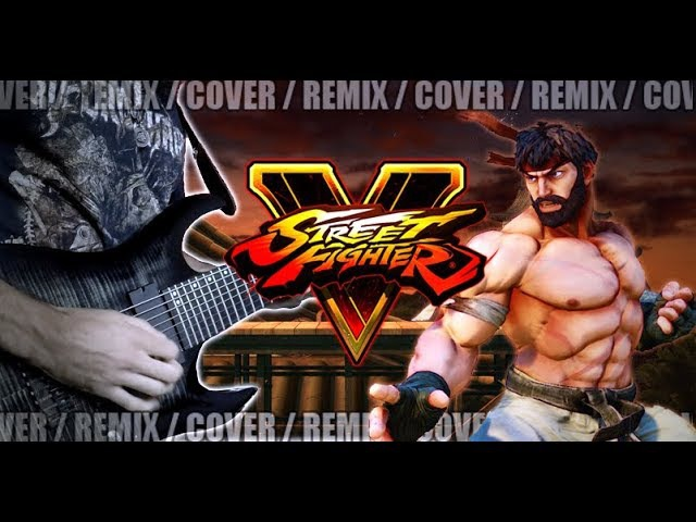 Street Fighter V - Suzaku Castle (Ryus Theme) | METAL REMIX