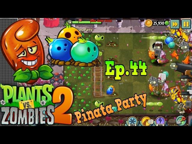 Plants vs Zombies 2 Pinata Party 15 2 2018 Hot Date Premium Plant Valenbrainz Ep 44