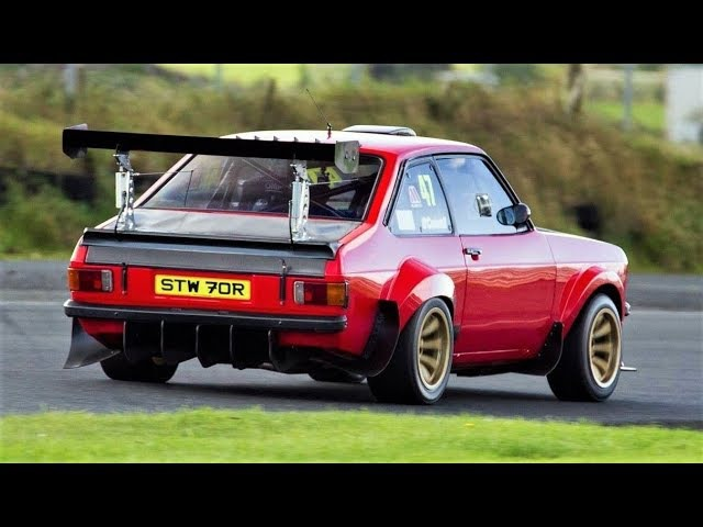 600Hp Ford Escort Mk2 Turbo Cosworth YB swapped Classic Monster