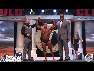 2018 ARNOLD CLASSIC - CLASSIC PHYSIQUE - AWARDS