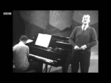 Benjamin Britten and Peter Pears Recital - Riverside Studios 1964 Part 2
