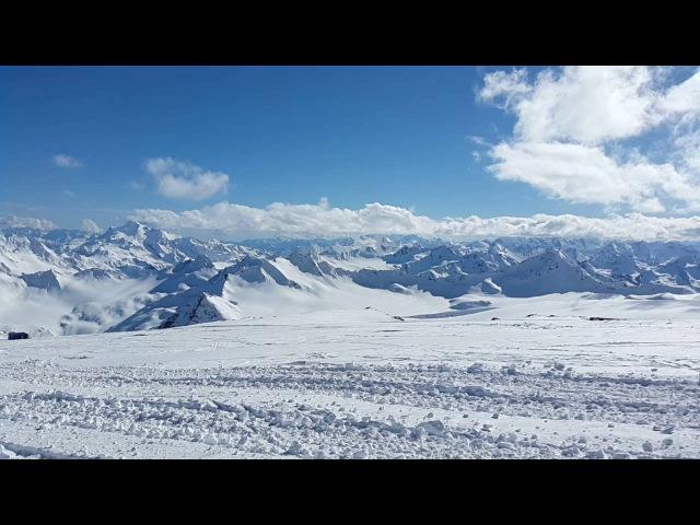 Дорога на Эльбрус 4100 м