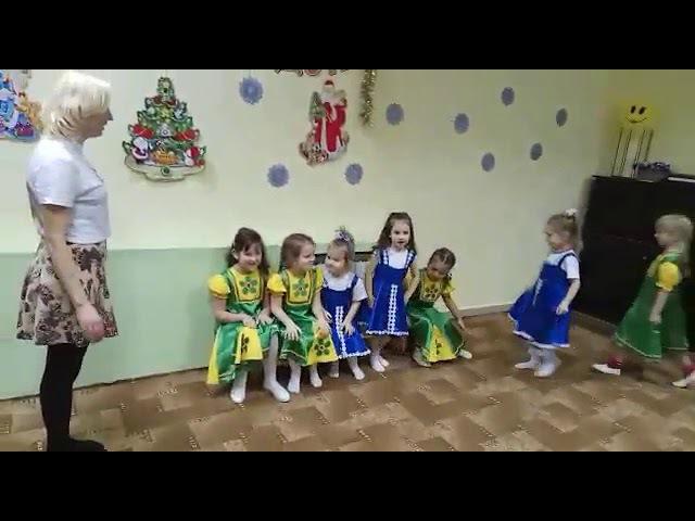 Русский танец Открытый урок 28 декабря 2017
