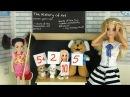 ЛИЗА ЗАИГРАЛАСЬ Мультик Барби Школа Куклы Для девочек Играем в Куклы