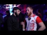 Ibragim Chuzhigaev interview