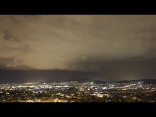 4K Storm Timelapse // Athens, Greece - October 24, 2017