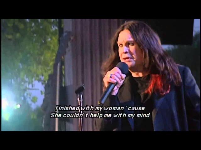 Ozzy Osbourne Tony Iommi - Paranoid (Buckingham Palace Garden 2002)