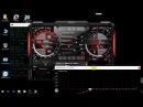 Разгон видеокарты через MSI Afterburner используя кривую напряжения