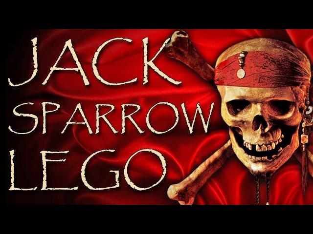 Jack Sparrow LEGO minifigure sets videos review captain Jack Sparrow Girates of the Caribbean