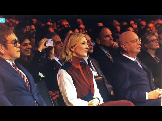 Шахрукх Кхан на церемонии награждения WEF 2018 /Давос, Швейцария 22.01.2018