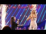 Celine Tam &amp Helene Fischer - Amazing DUET &amp Interview You Raise Me Up Die Helene Fischer Show