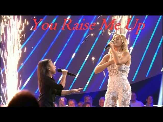 Celine Tam Helene Fischer - Amazing DUET Interview | You Raise Me Up | Die Helene Fischer Show