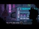 Night rainy city - pixel art (NightStop - Bloodnight)