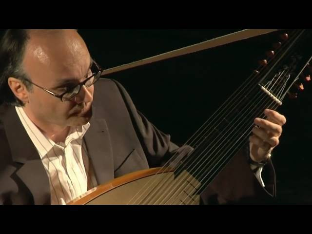 Froberger, Allemande (Suite G Minor), Andreas Martin, Lute, HD